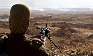 Kurdish armed fighters